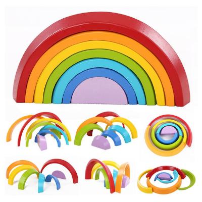 Arcoiris de Madera Montessori