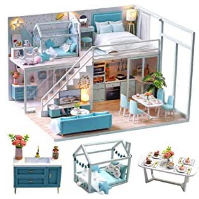 Casa de muñecas para construir