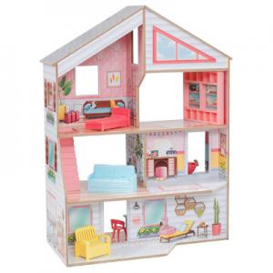 casa de muñecas madera como Aldi