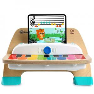 juguetes para bebés 1 año Piano de madera