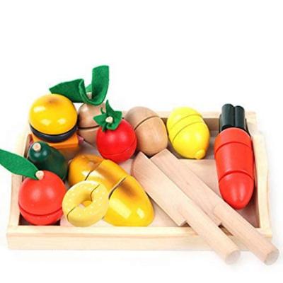 Juegos de comida de madera natural como Lidl