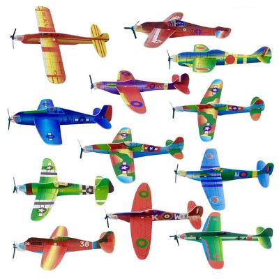 Set de aviones de madera